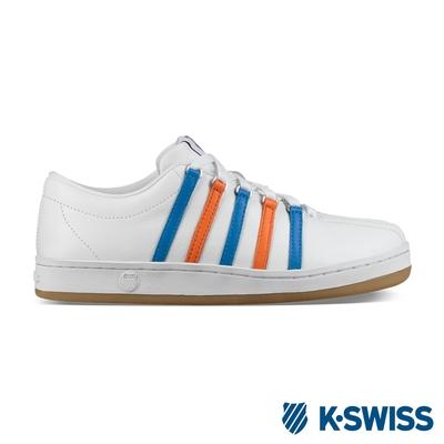 [零碼出清]K-SWISS Classic 88 Heritage 鞋-女-白/藍/橘