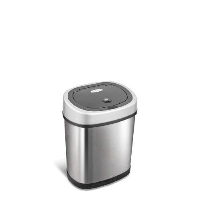 美國NINESTARS時尚不銹鋼感應垃圾桶12L(廚衛系列)