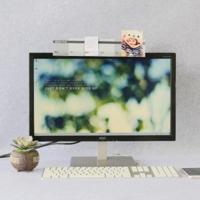 OSHI歐士 電腦螢幕留言備忘版-周計畫(灰) MEMO夾 禮物 辦公用品 便利貼留言板