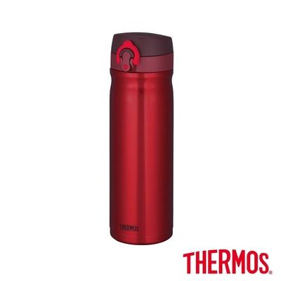 THERMOS膳魔師彈蓋不鏽鋼真空彈蓋保溫瓶0.5L(JMY-500-CSS)
