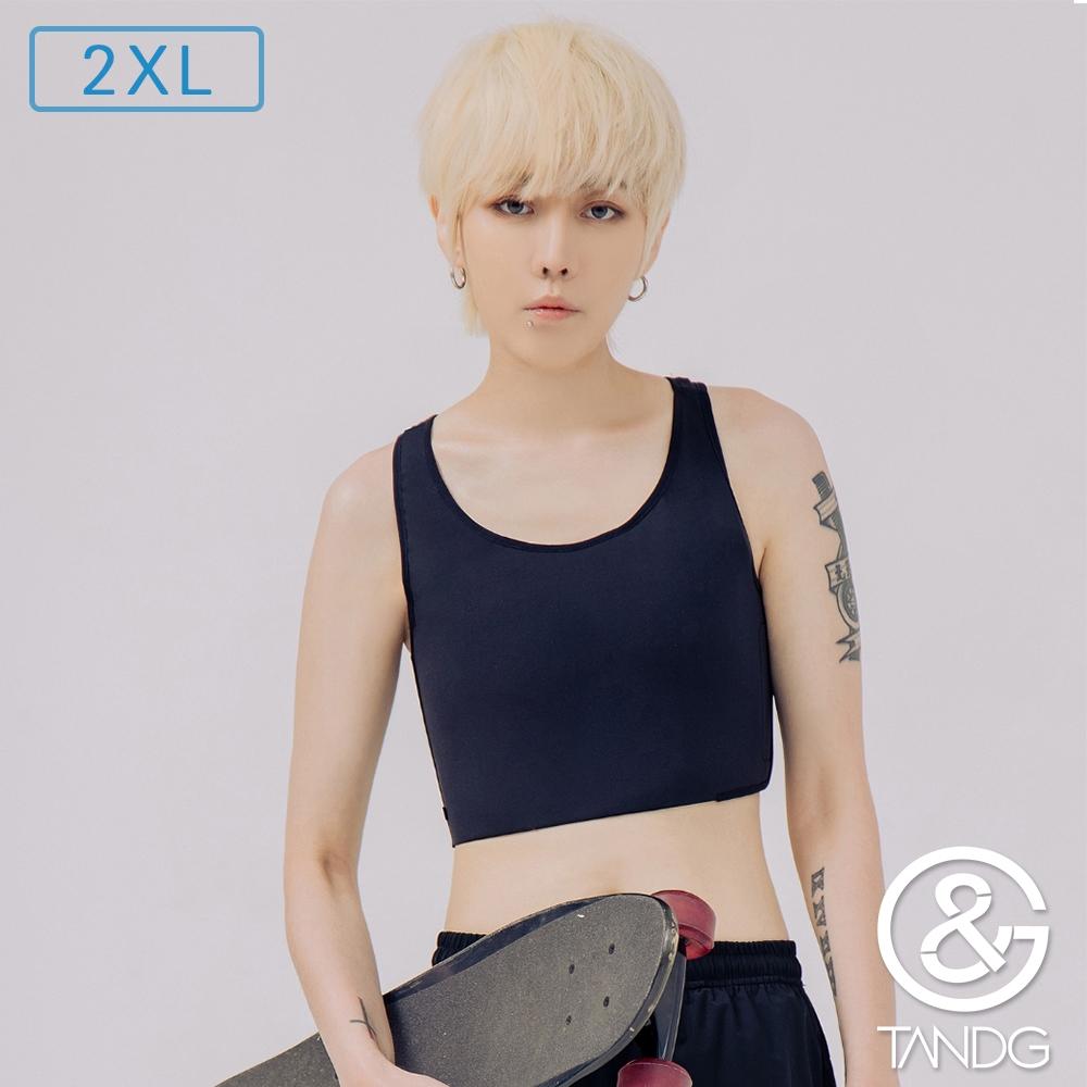 T&G 大U強力款-半身排鉤束胸(黑)2XL