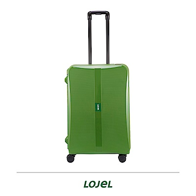 LOJEL OCTA2 26吋拉桿箱 綠色 PP材質 框架 密碼扣鎖
