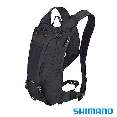 SHIMANO UNZEN ENDURO耐力賽背包-無水袋4L 黑