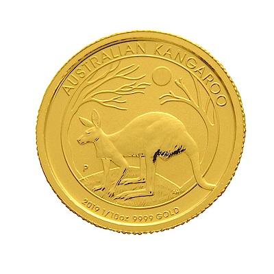 2019年澳洲袋鼠金幣-1/10盎司(OZ)