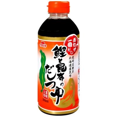 Ichibiki 鰹魚昆布風味麵味露(500ml)