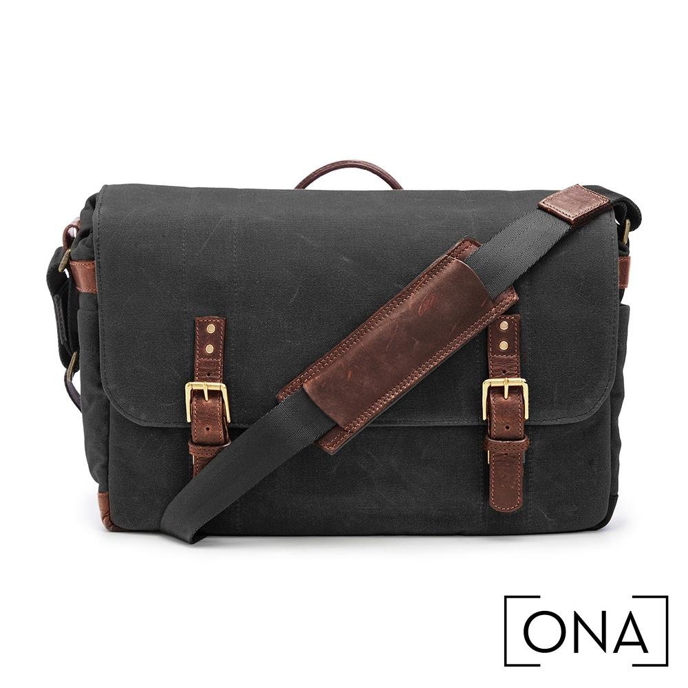 ONA Union Street 專業相機包(1機3鏡,15吋筆電適用) - 經典黑