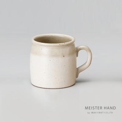 日本 MEISTER HAND 牛奶系列陶瓷馬克杯-乳白色
