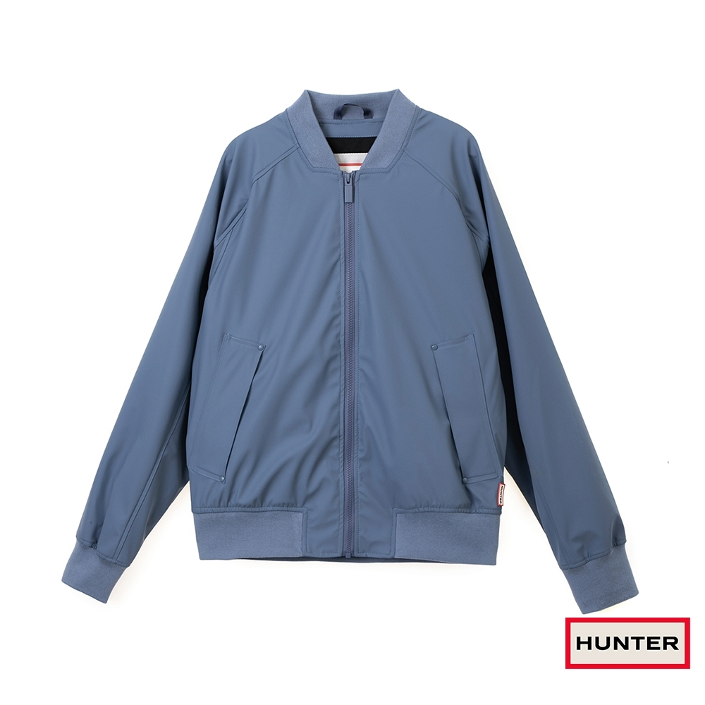 HUNTER - 男裝 - 輕量橡膠夾克 - 藍