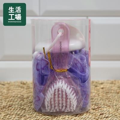 【週年慶倒數↗全館限時8折起-生活工場】HEART紫心沐浴禮盒3件組