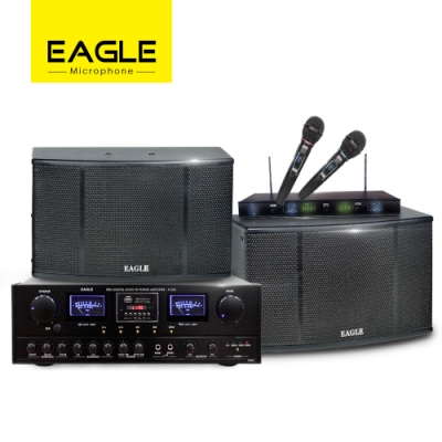 【EAGLE】專業級影音三件組 A-320+ES-K08+EWM-L368U