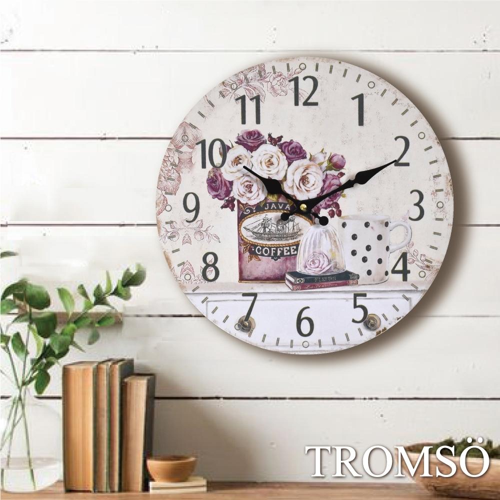 TROMSO無框畫圓形時鐘 product image 1