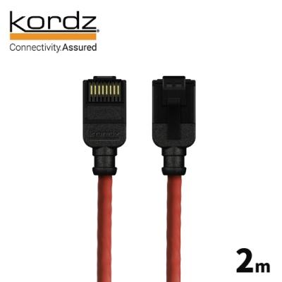 Kordz PRO CAT6 28AWG極細高速網路線 / 紅色 2 米