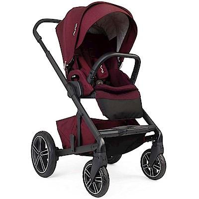 荷蘭 Nuna Mixx 三合一雙向嬰幼兒手推車(莓紅)