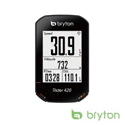 Bryton Rider 420E GPS無線自行車記錄器