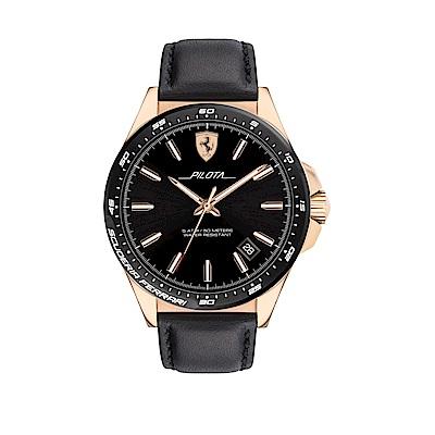 Ferrari 法拉利急速紳士風采時尚腕錶/0830522