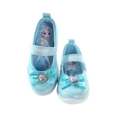 魔法Baby 女童鞋 台灣製迪士尼冰雪奇緣正版休閒公主鞋  sa15303