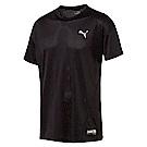 PUMA-男性訓練系列A.C.E.短袖T恤-黑色-歐規