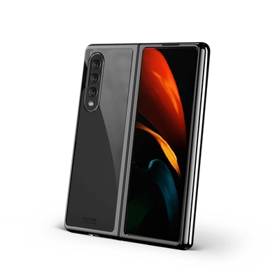 SAMSUNG Galaxy Z Fold3 5G 電鍍幻影全包殼(3色)