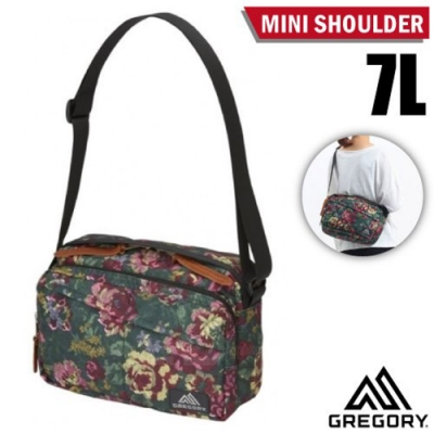GREGORY Mini Shoulder 7L 可調式側背包_花園油彩