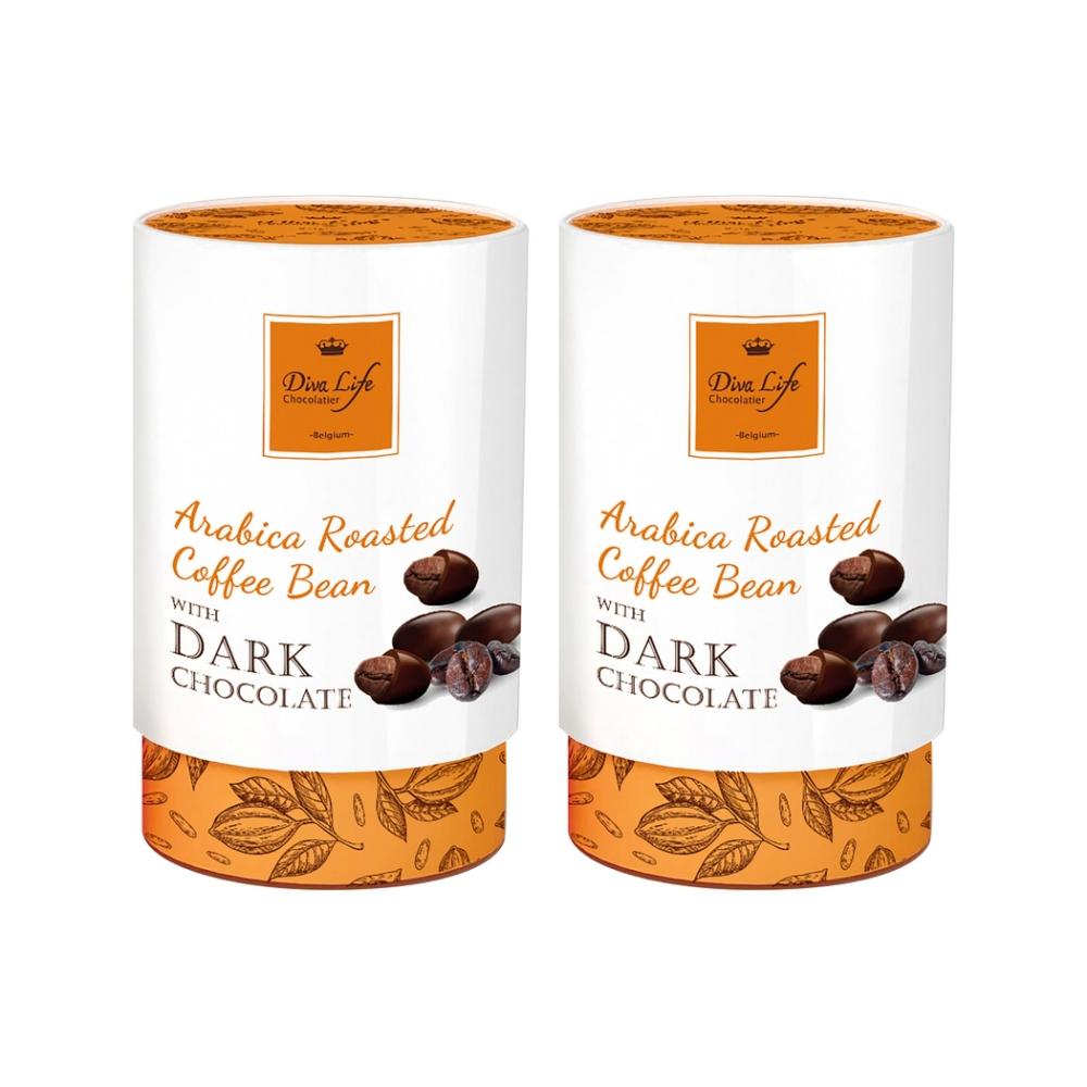 Diva Life 咖啡豆巧克力(100g)2盒組