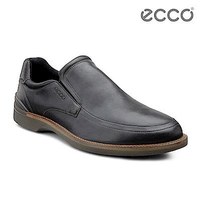 ECCO FENN 休閒風正裝皮鞋-黑