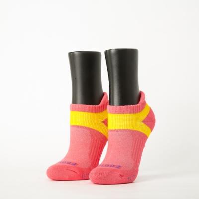 Footer除臭襪-輕壓力足弓船短襪-六雙入(桃紅*2+粉紅*2+紫*2)