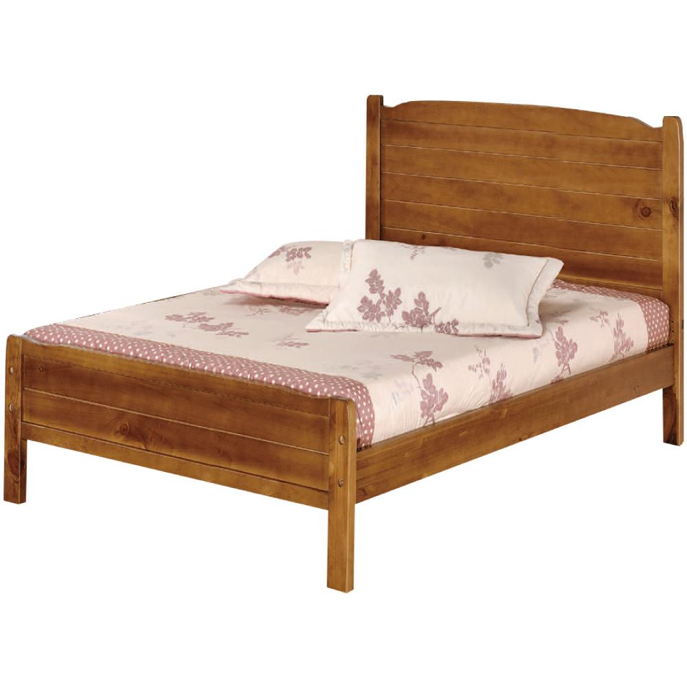 綠活居 哈斯時尚3.5尺實木單人床台(不含床墊)-106x195x98cm免組