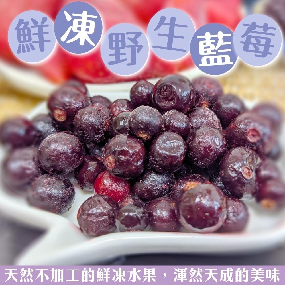 【天天果園】冷凍加拿大野生藍莓2包(每包約200g)