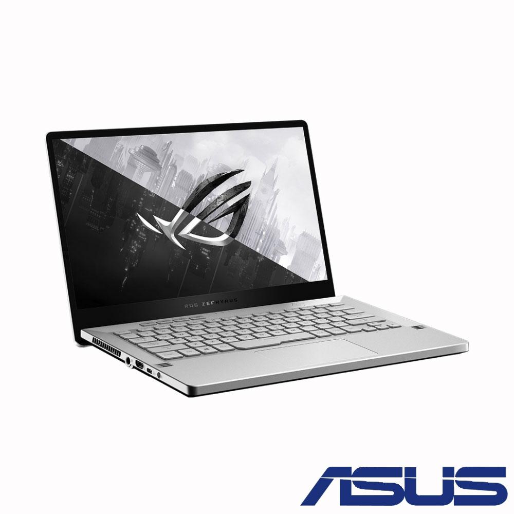ASUS GA401IU 14吋電競筆電 (R7-4800HS/GTX1660Ti/16G/1T SSD/ROG Zephyrus G14/月光白-無燈版)