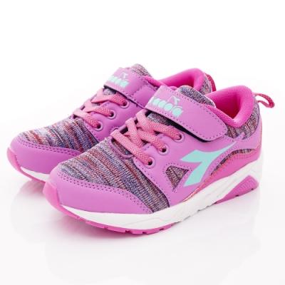 DIADORA童鞋 避震機能跑鞋款 SE907紫(中大童段)