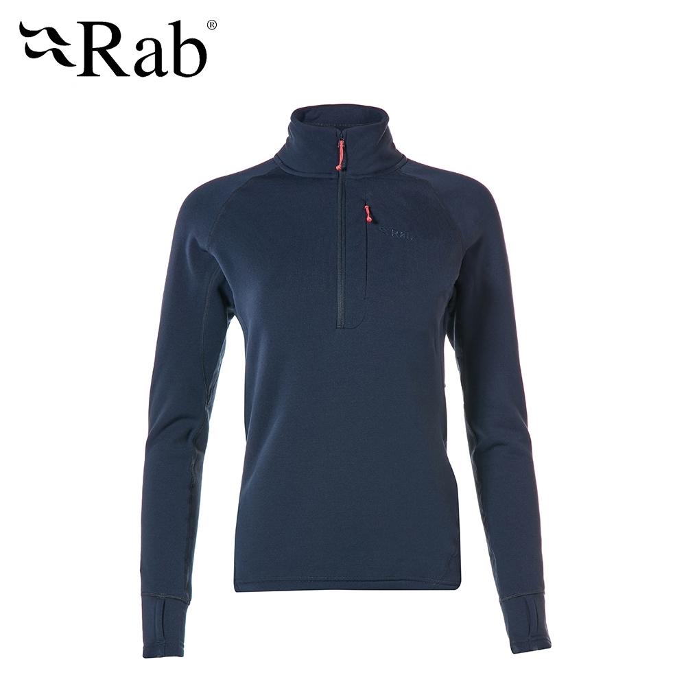 【RAB】Power Stretch Pro 保暖排汗衣 女款 深墨藍 #QFE63