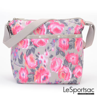 LeSportsac - Standard側背小方包 (蠟繪玫瑰)
