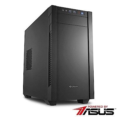 華碩H370商用平台[特務統領]i5六核Win10效能電腦