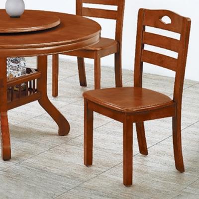 H&D 全實木餐椅317