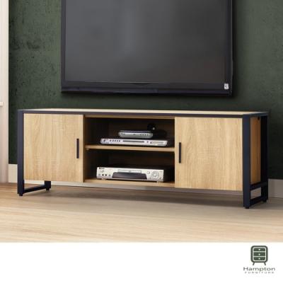 Hampton佩敦原切5尺電視櫃-148.5x40x51.6cm