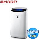 SHARP夏普 19坪 自動除菌離子空氣清淨機 FP-J80T-W