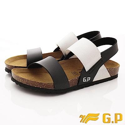 GP時尚涼拖  時尚涼鞋款-SE70-10黑(女段)