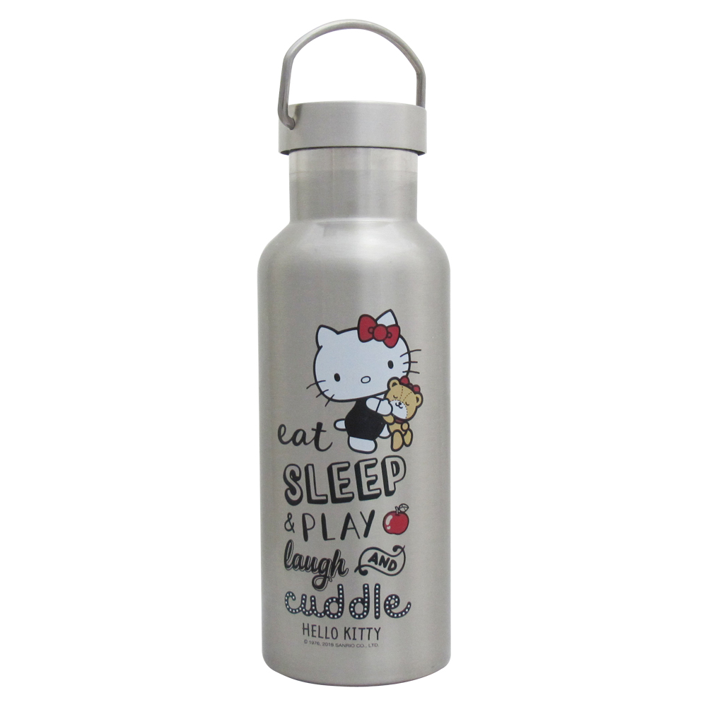 Hello Kitty不鏽鋼酷炫保溫/保冷運動瓶(500ml)