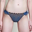 黛安芬-蝴蝶逆齡bra系列低腰內褲M-EL(英國藍)