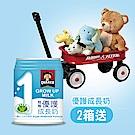 桂格 優護成長奶(本賣場含贈品220mlx24罐,共計48罐)送迷你拖車