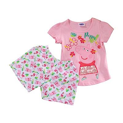 粉紅豬小妹純棉短袖套裝 k51192 魔法Baby