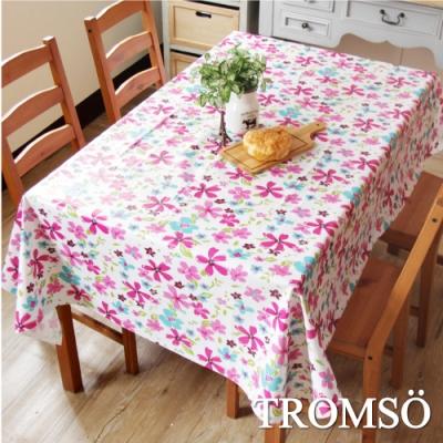 TROMSO北歐生活抗汙防水桌布-繽紛小花