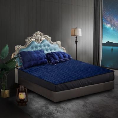 Hilton希爾頓 克利爾古堡系列法蘭絨冬夏兩用透氣床墊/單人