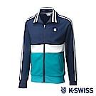 K-Swiss Tracksuit Zip Up運動外套-男-藍