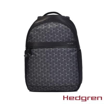 【Hedgren】方塊黑後背開口包(HIC11X L VOGUEXL)