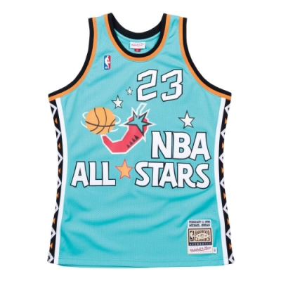M&N Authentic球員版復古球衣 All-Star Game 1996 #23 Michael Jordan