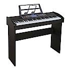 61鍵魔光電鋼琴+送琴椅 可連接手機、平板!智能教學系統、力度輕重音表現,電子琴DP110