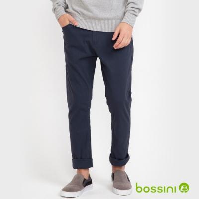 bossini男裝-彈性長褲05海軍藍