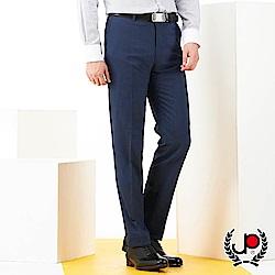 極品西服品味暗紋緹花平面西褲_深藍(BS701-1)