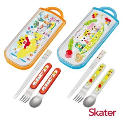Skater三件式餐具組 巧虎系列